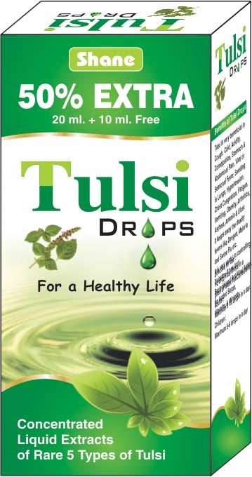 Tulsi Drops Oshid Pharmaceuticals Manufactures And